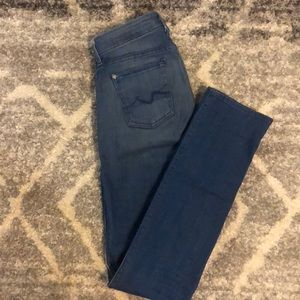 7FAMK Kimmie Straight Leg Jeans